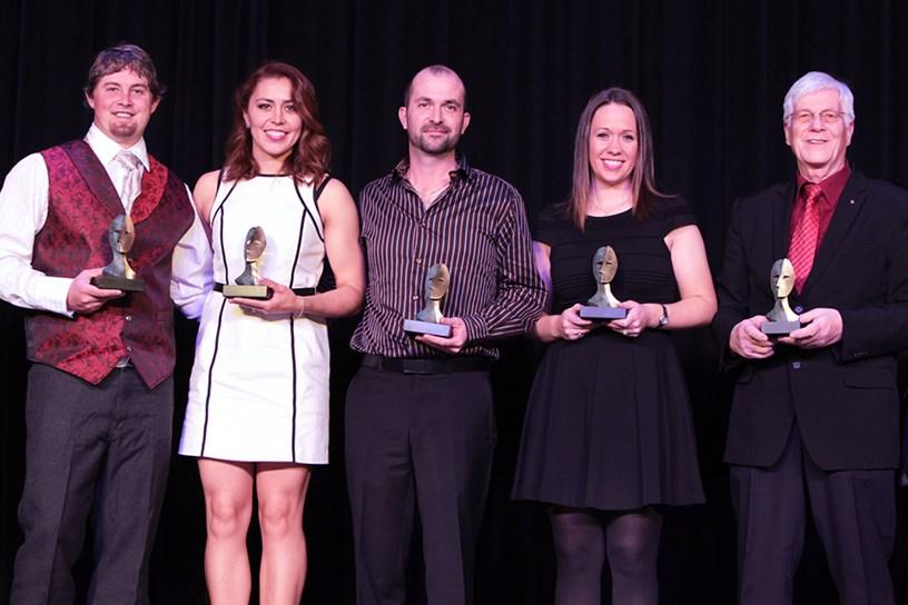 Aída Román en la entrega de los Premios. Foto: World Archery