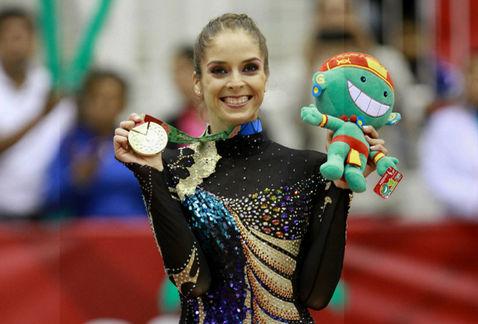 Cinthya Valdez, máxima medallista en JCC
