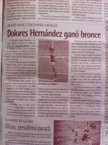 Dolores Hernández, medallista de bronce en Mundial de Clavados de la Juventud