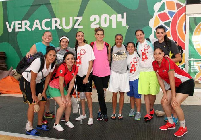 Selección Femenil de Basquetbol en Veracruz