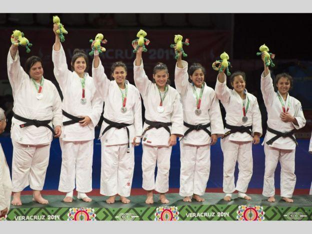 Equipo de judo femenil de México con Plata