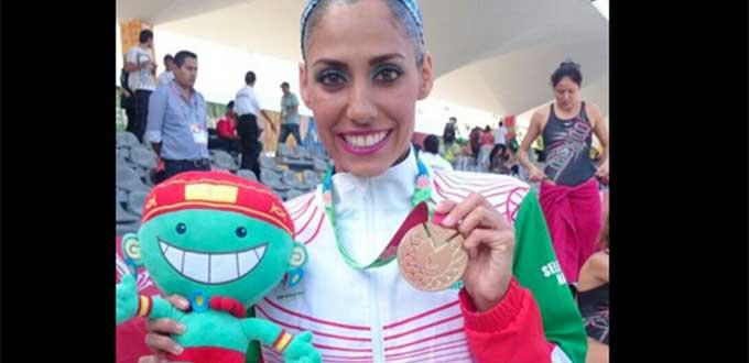 Nuria Diosdado, nado sincronizado