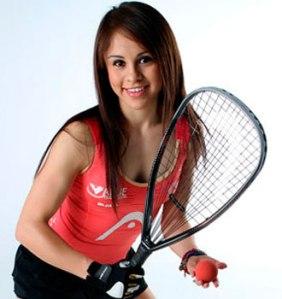 La raquetbolista número uno del mundo