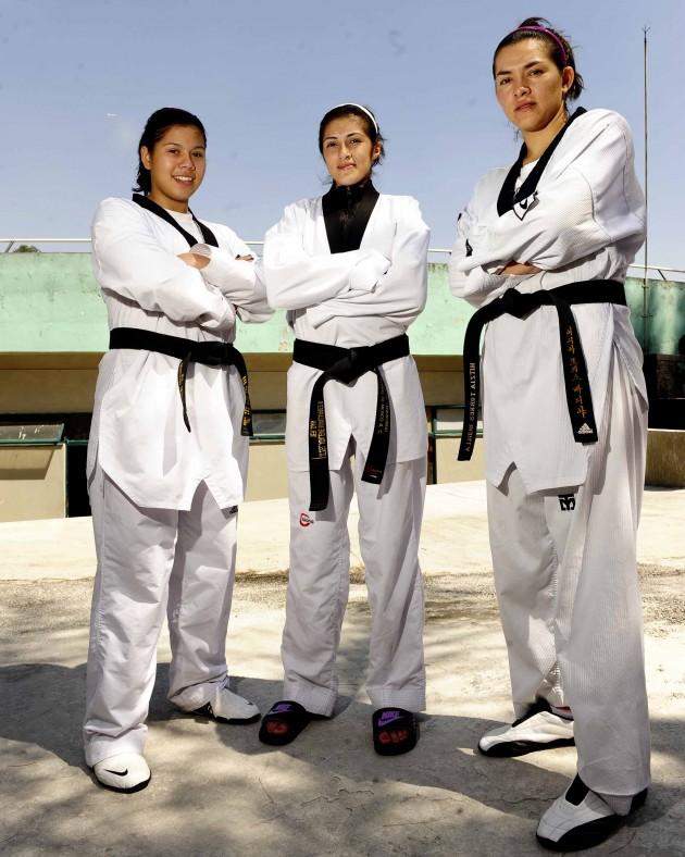 FOTO: Briseida Acosta, Itzel Manjarrez y María del Rosario Espinoza