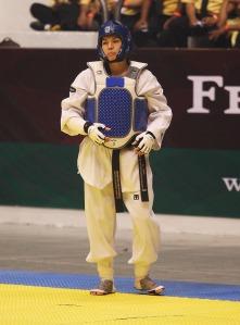 Gana su primer oro del 2014 en Abierto de EU