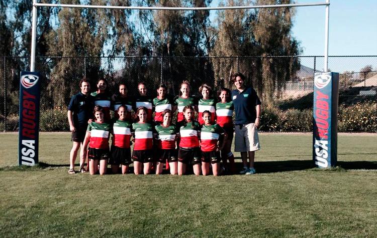 Equipo femenil de Rugby. Foto: COM