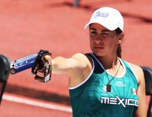 Tamara Vega, pentatleta lista