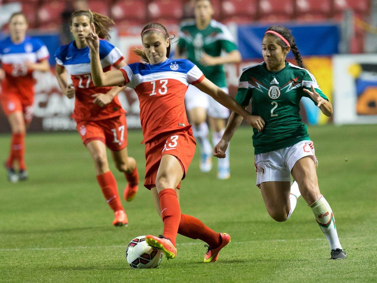 Fuente  Sitio web Mi Selección · USA USP SOCCER  WOMEN S FRIENDLY-USA VS  MEXICO S SOC USA UT c76e9a1571a28