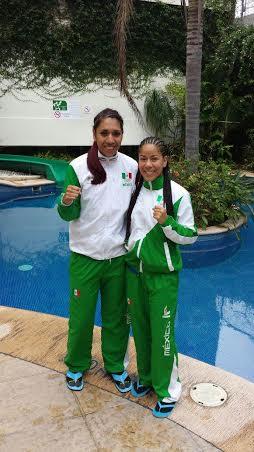 Sulem Urbina y Alma Ibarra en Veracruz