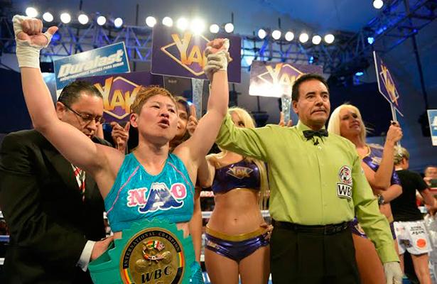 Boxeadora Naoko Fujioka