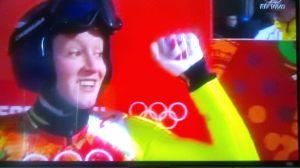 Segundo lugar en salto de trampolín Sochi 2014