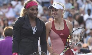 Serena Williams y Caroline Wozniack