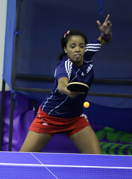 Sandra Mustelier, tenista que desertó de Cuba