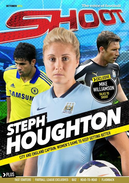 Futbolistas mujeres en portada